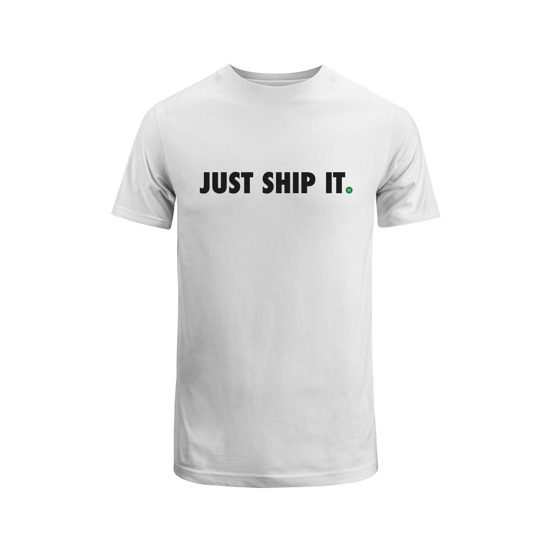 "WDY T-Shirt ""JUST SHIP IT"""